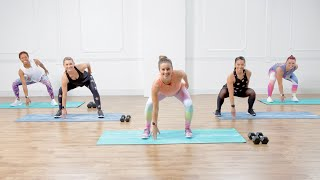 Burn 300 Calories in 30 Minutes With This Workout With Weights