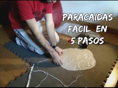 como hacer paraca237das de juguete casero aerodin225micohow