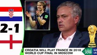 CROATIA VS ENGLAND 2-1 [POST MATCH ANALYSIS] WITH JOSÉ MOURINHO!