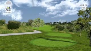 Hole 8 Golf Son Gual Mallorca