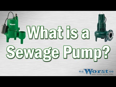 What is a Sewage Pump?