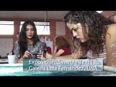 Exposición Sinergia Textil, CIDEA UNA