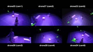 drone + AR test 03 (Rhizomatiks Research)
