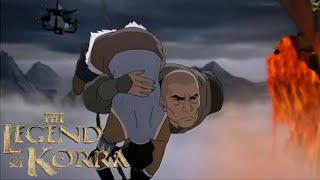 The Legend of Korra Season 3 Episode 12 Review - Flying Airbending & Death! (Enter The Void)