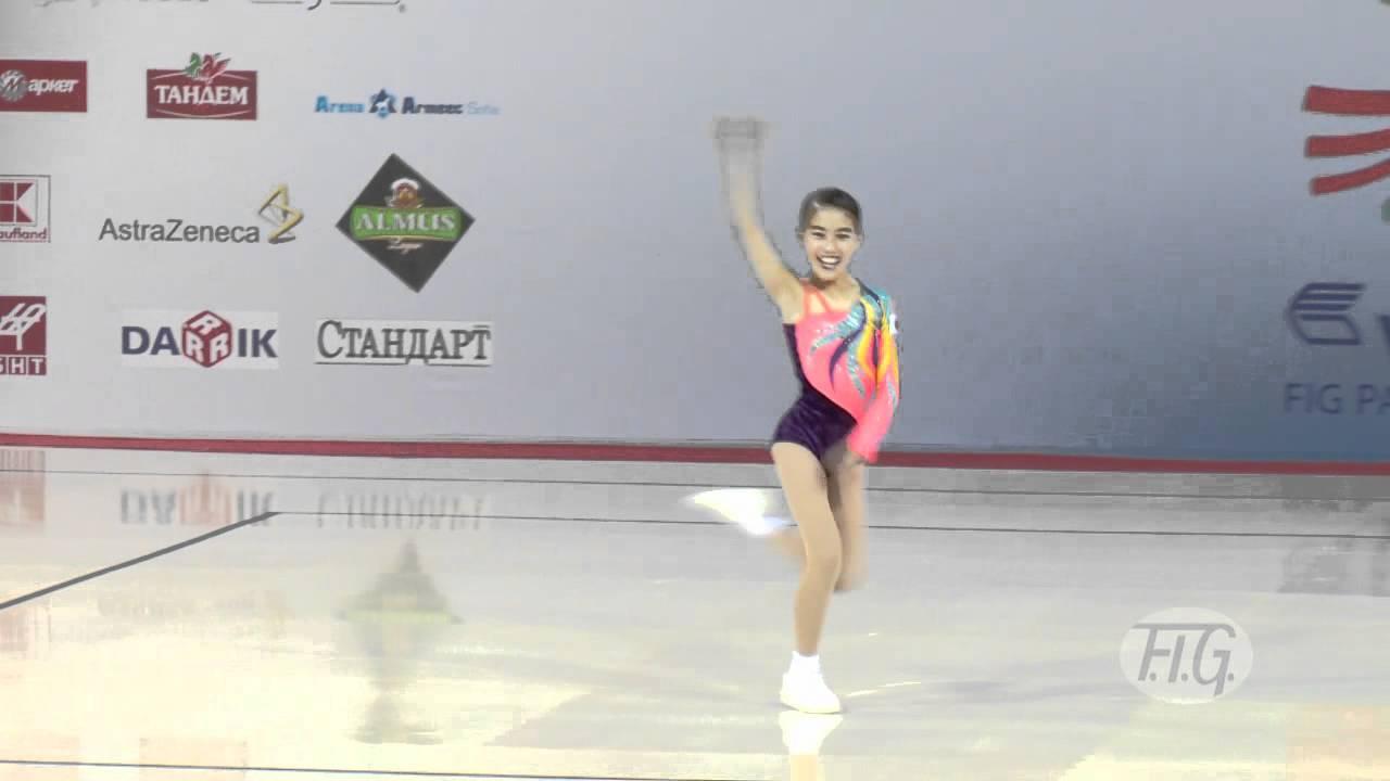 Yuka FURUKYO (JPN) - Aerobic World Age Group 2012