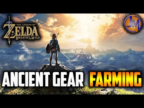 "BOTW | LEVEL 3+ ""ANCIENT GEAR FARMING"" (The Legend of Zelda: Breath of the Wild)"