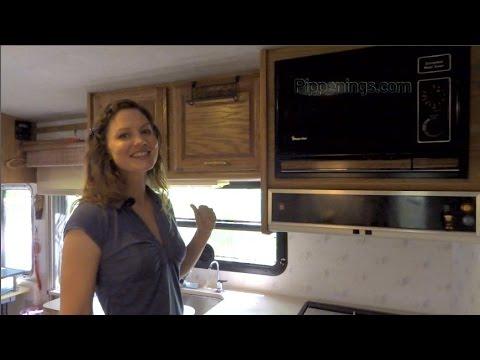 RV Renovations: Motorhome Kitchen Renovation part 1