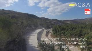 AC&A in Haiti - ROAD CONSTRUCTION SUPERVISION - SECTION 1