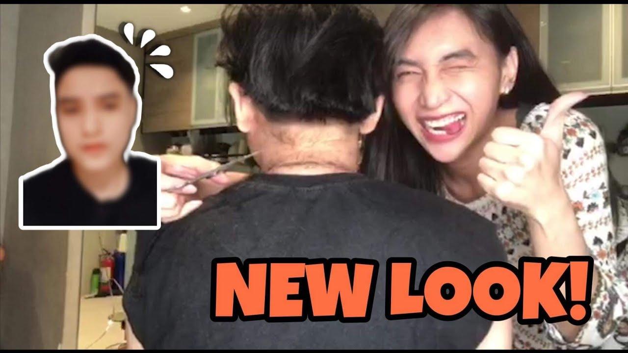 NEW LOOK! | (NAGPAGUPIT NA AKO)