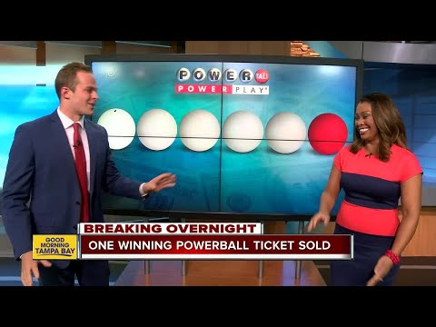 Winning $758.7 million Powerball lottery ticket sold in Massachusetts for August 23, 2017 drawing