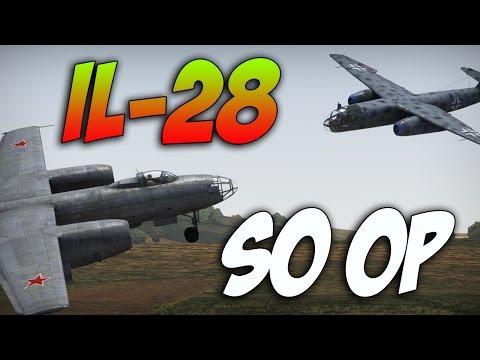 War Thunder IL-28 JET BOMBER- War Thunder Jet Gameplay