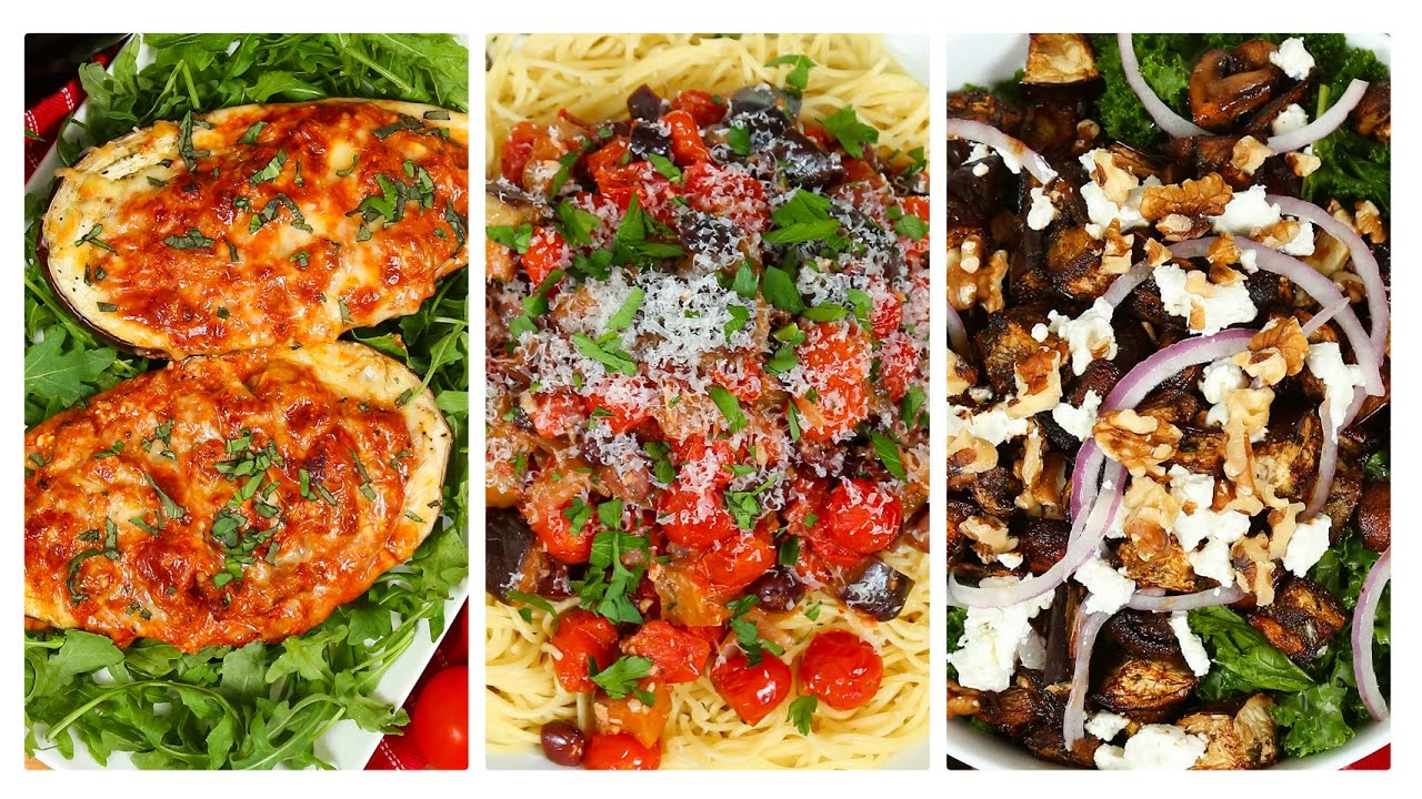 3 delicious eggplant recipes dinner made easy youtube 3 delicious eggplant recipes dinner made easy forumfinder Image collections