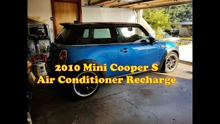 2010 Mini Cooper S Air Conditioning Recharge
