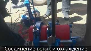 Сварка полиэтиленовой трубы аппаратом RD160(Оборудование для сварки ПНД труб на сайте 43i.ru., 2014-06-06T13:04:04.000Z)