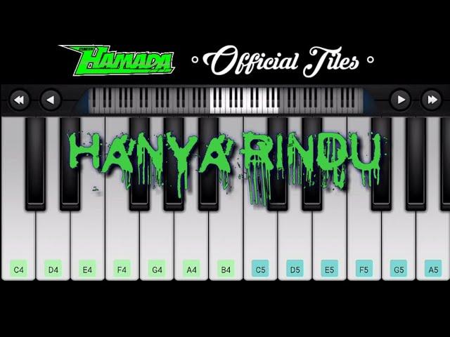 Hanya Rindu Andmesh Perfect Piano Tutorial And Learning Youtube