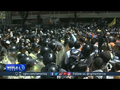 Protests impacting daily life in Venezuela