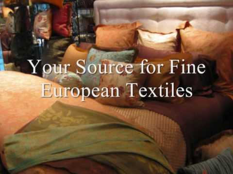 Fine European Linen for the Bed, Bath and Table