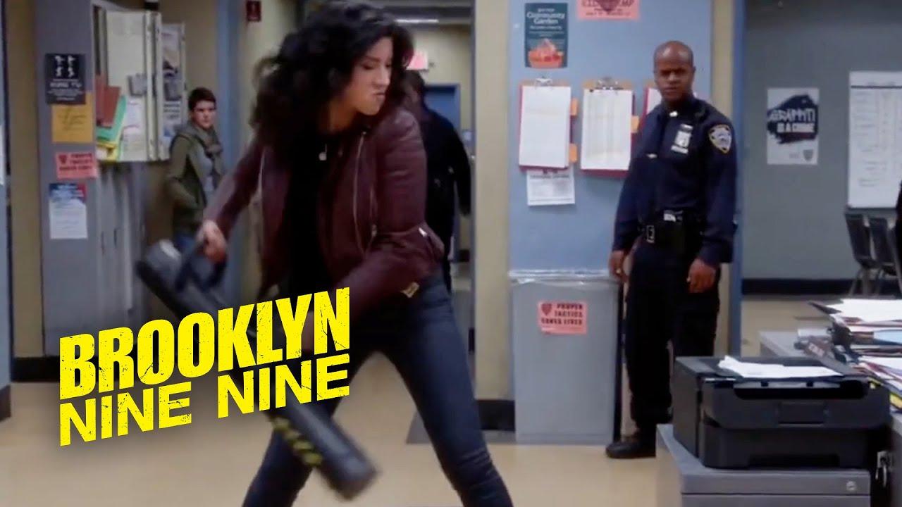 Rosa Destroys the Printer | Brooklyn Nine-Nine