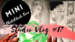 ★STUDIO VLOG #17 | Mini Sketchbook Tour