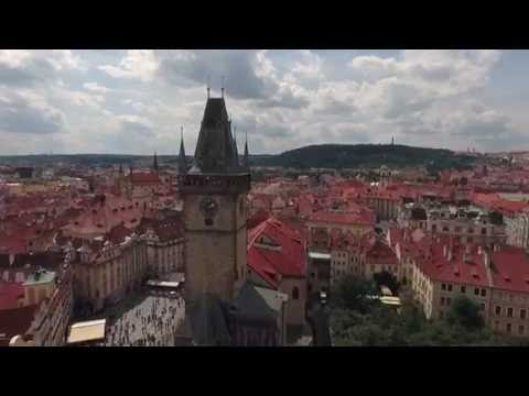Above Prague - Capital of Czech Republic - DJI Phantom 4