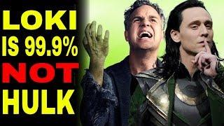 Loki Is Alive, But NOT As Bruce Banner (Avengers 4 Endgame)