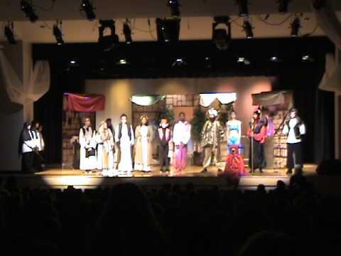 Friday Matinee, Part one. Aladdin, Jr. Pocomoke High School