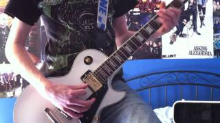 Asking Alexandria - Alerion and The Final Episode - Guitar Cover - HD