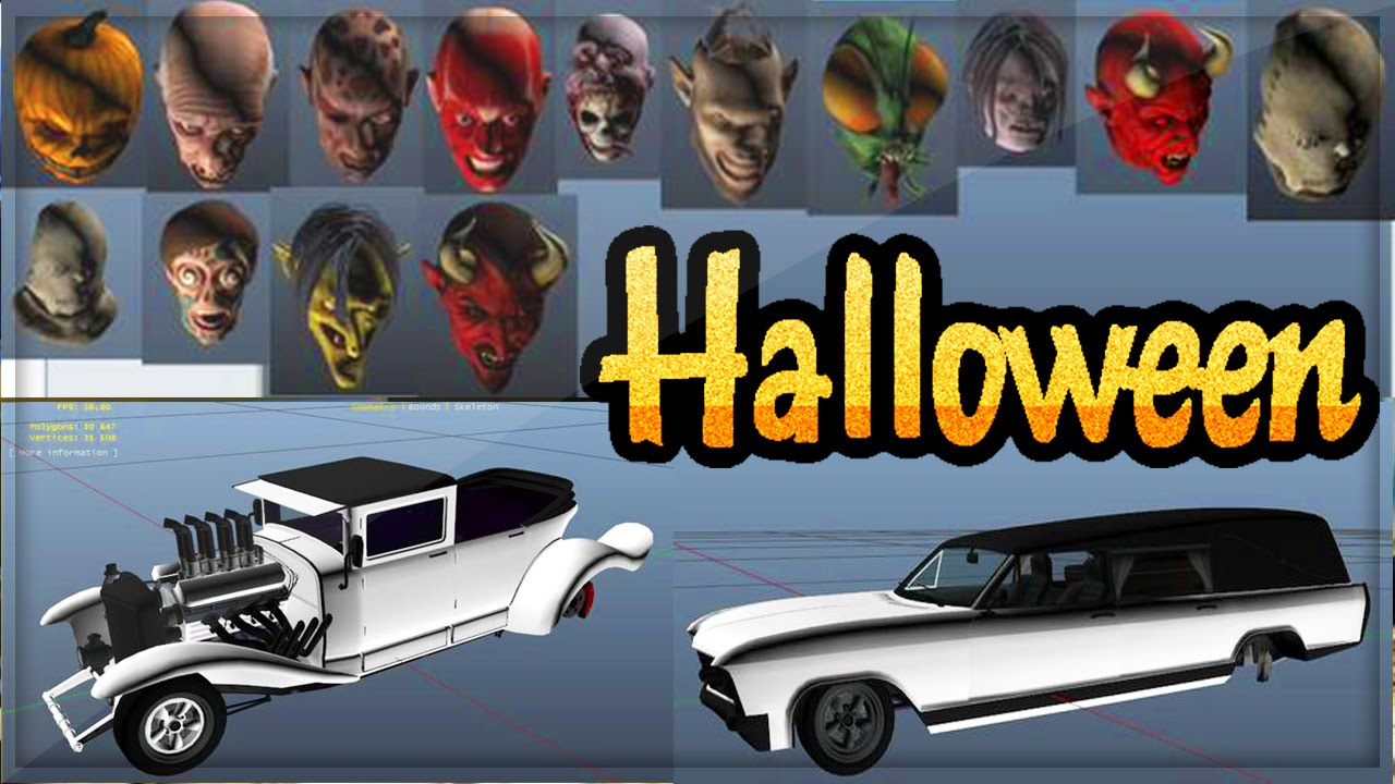 GTA 5 Halloween DLC Update! New Cars, Weapons & Masks DLC (GTA 5 ...