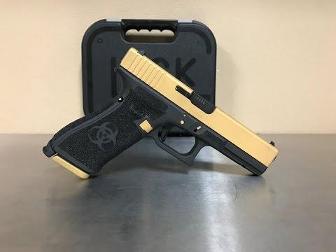 Glock 17 Stipple Job (Time Lapse)