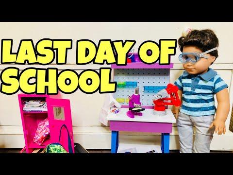 Last Day of School For American Girl Dolls