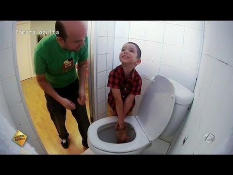 El Hormiguero 3.0 - ¡Me he colado por el váter!