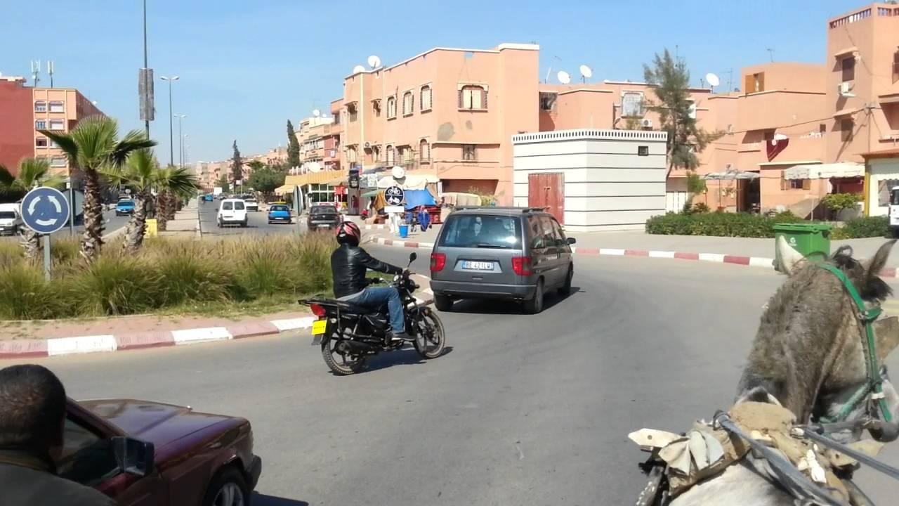 جولة لوجيستيكية بمدينة قلعة السراغنة  2016 HD