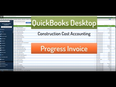 Progress Invoicing for Construction Accounting