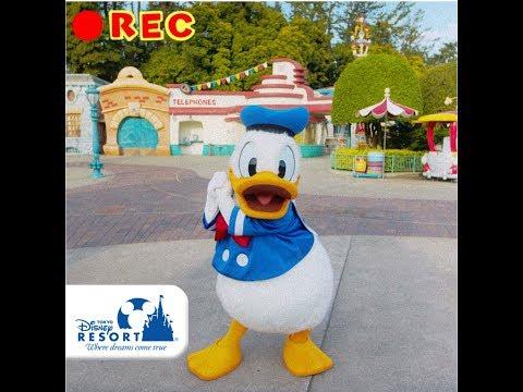 【公式】ドナルドのバースデーセルフィー | 東京ディズニーランド/Tokyo Disneyland