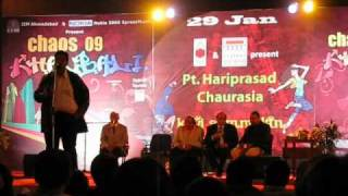 Neeraj Puri @ Chaos Khalbali 2009 (IIM Ahmedabad)