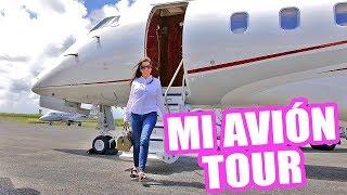 TE MUESTRO MI AVIÓN PRIVADO ♥ Jet Challenger 300 Tour! El Mundo de Camila Guiribitey