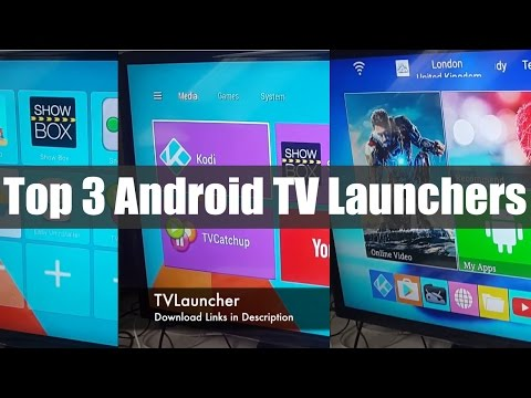 MXQ PRO 4K 2016 Android TV Box - MY TOP 3 LAUNCHERS/THEMES