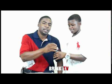 10 Year Old Rapper Lil Chris Exclusive BRINK TV Interview