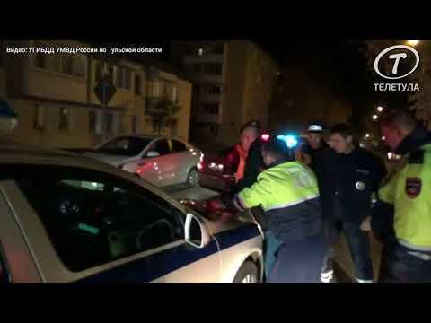 В Кимовске гаишники устроили погоню за пьяным водителем