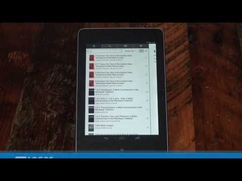 Android Tablet: How To Download Offline Books | Logos Bible Software