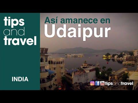 Amanecer en Udaipur- India TIMELAPSE