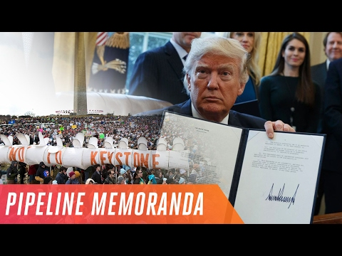 Keystone XL and Dakota Access pipelines controversy explained