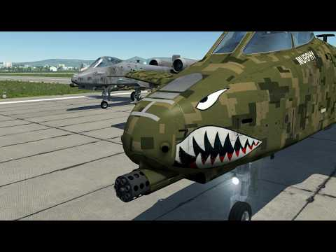 US-backed Reaper Beach Landing To Push Through Coastal Defenses | A-10 F-5 P-51 | DCS