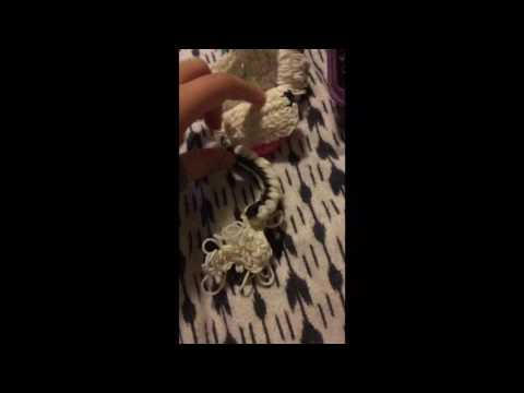 My progress in my rainbow loom poodle|| Paetyn Leighhh