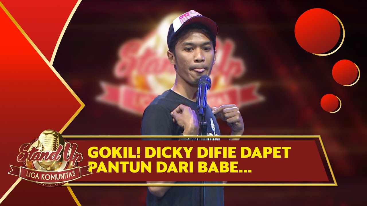 Stand Up Comedy Dicky Difie: PECAH GILA!! Cabe-cabean 1 Motor 4 Orang, Dikira Banana Boat? - LKS
