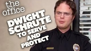 Dwight Schrute TO SERVE AND PROTECT | The Office US | Comedy Bites