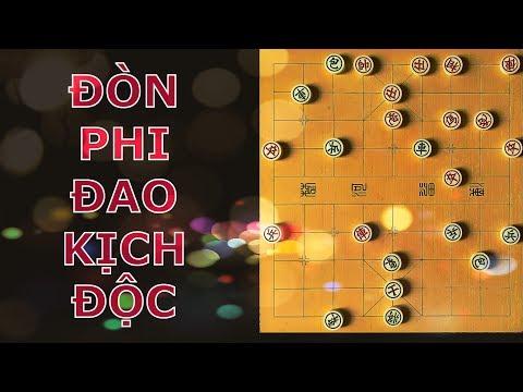 72 bài học cờ tướng căn bản- Bài 8- Đòn phi đao của Liễu Đại Hoa