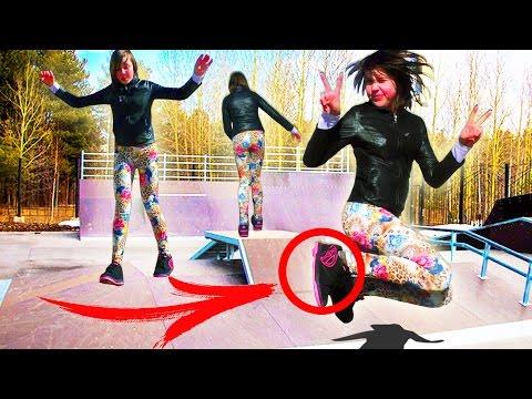 НОВОЕ РАЗВЛЕЧЕНИЕ 😜 КАТАНИЕ НА HEELYS Прикольные Кроссовки 👟 на Роликах Катаемся на Хилис - Cмотреть видео онлайн с youtube, скачать бесплатно с ютуба