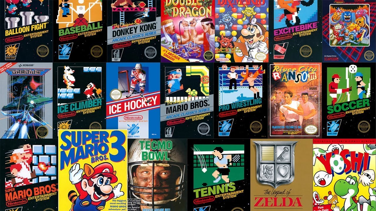Nintendo Switch Online All 20 Nes Games Gameplay Youtube