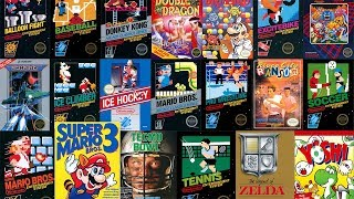 Nintendo Switch Online - All 20 Nes Games Gameplay